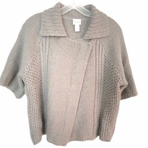 Chico's Wool And Mohair Blend Cardigan